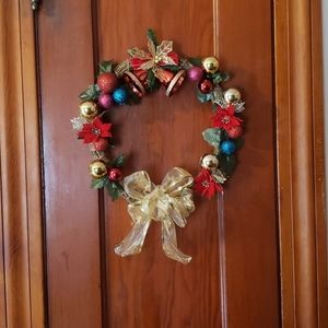 Wreath holiday new, hand made